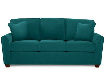 Kiefer Supreme Comfort Queen Sleeper By La Z Boy Sofa Couch Set Turquoise Sofa