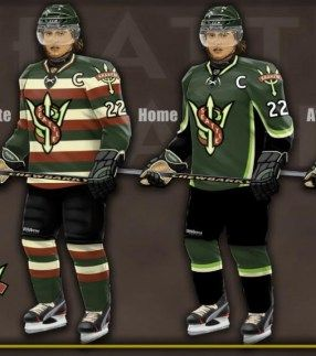 4 Concept Jerseys For Nhl Expansion Teams Jersey Hockey Jersey Logo Uniforms