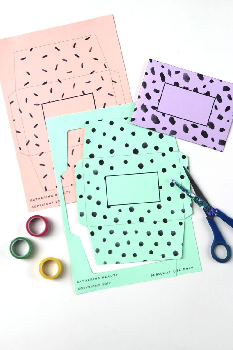 Free Printable Patterned Envelope Gathering Beauty Envelope Template Printable Free Printable Envelopes Bookmarks Handmade