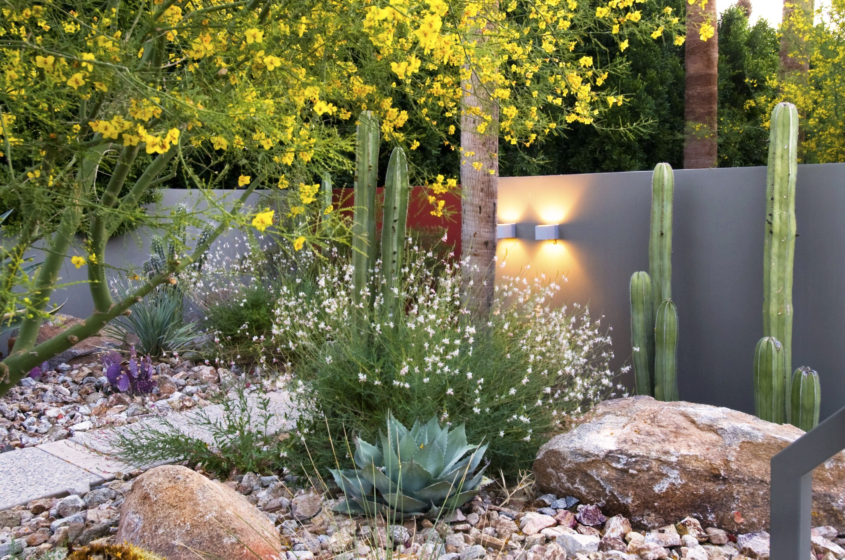 Steve Martino Landscape Architect Palm Springs Entryway Desert