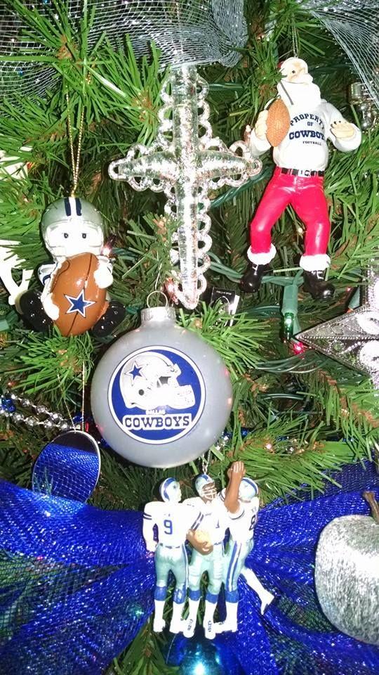Dallas Cowboy Christmas Ornaments. | Dallas cowboys ...