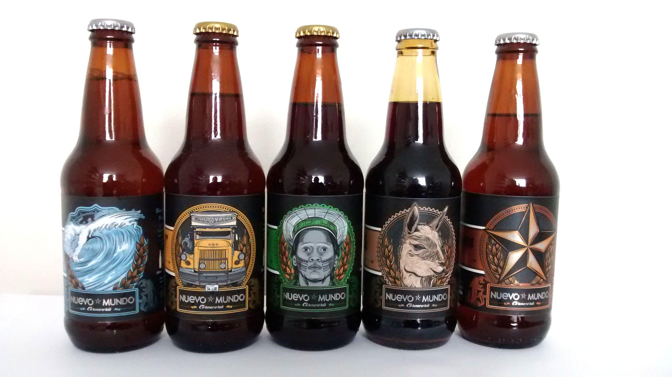 Nuevo Mundo Cervecería, más opciones para los amantes de la cerveza artesanal en Peru.  New craft brewery based in Peru.