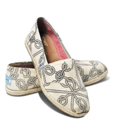 Another great find on #zulily! Taupe Rope Canvas Classics by TOMS #zulilyfinds