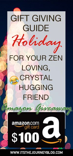 Holiday gift ideas for your spiritual friends. Zen, crystals, spirituality gifts.