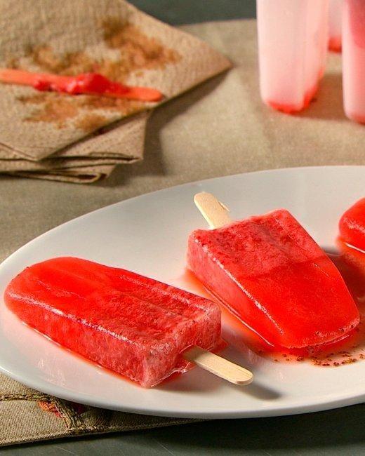 Strawberry Lemonade Popsicles Recipe