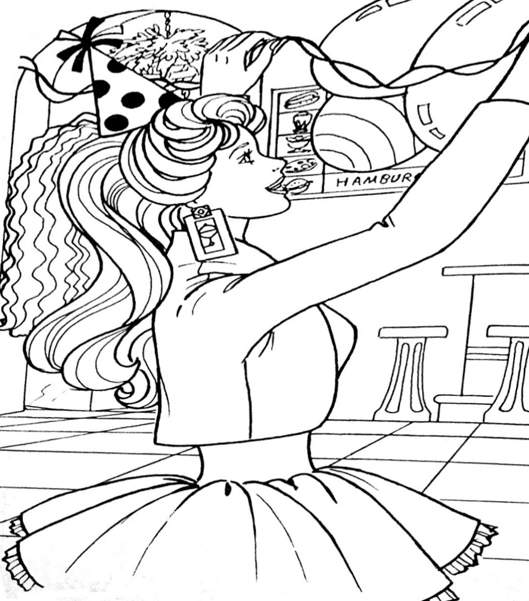 Pin by Tsvetelina on Barbie coloring (With images