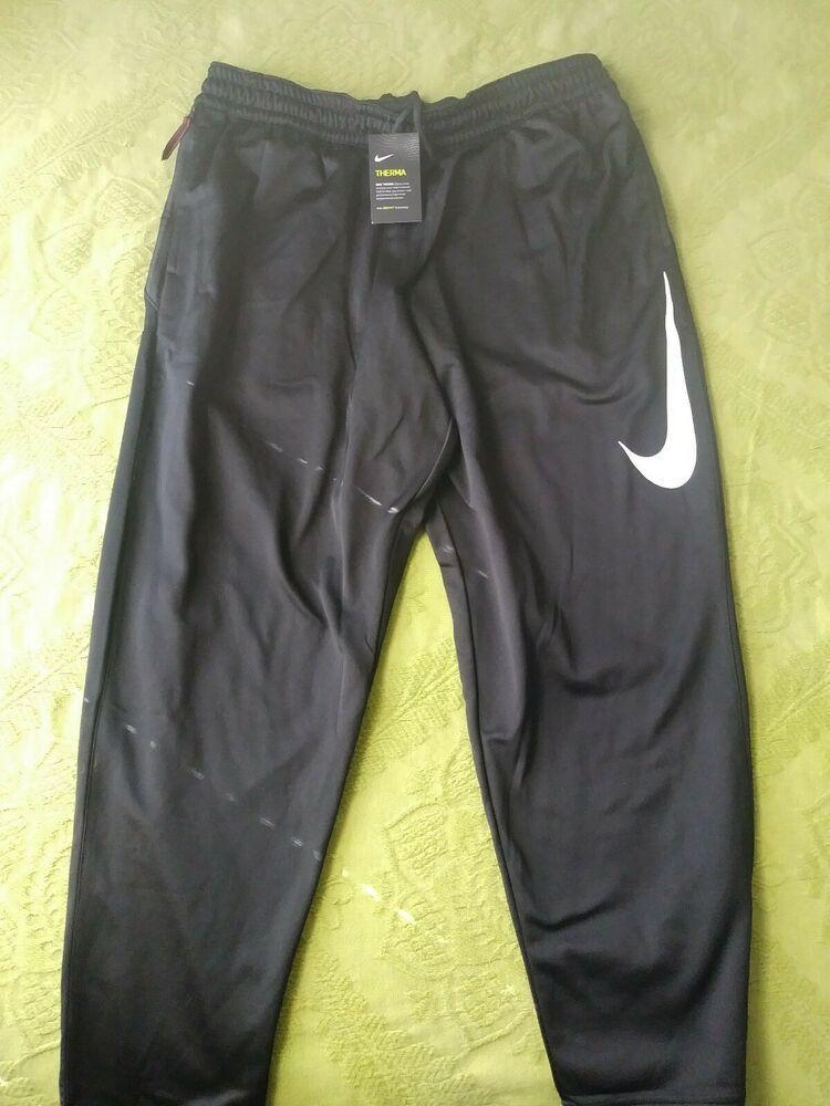 New nike men therma drifit training pants basketball