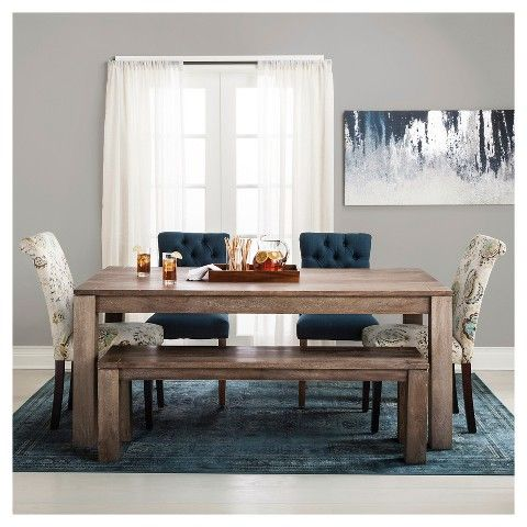 Braxton 72 Dining Table Rustic Brown Love This Target Table
