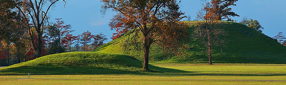 Native American Remains At Toltec Mounds Archeological