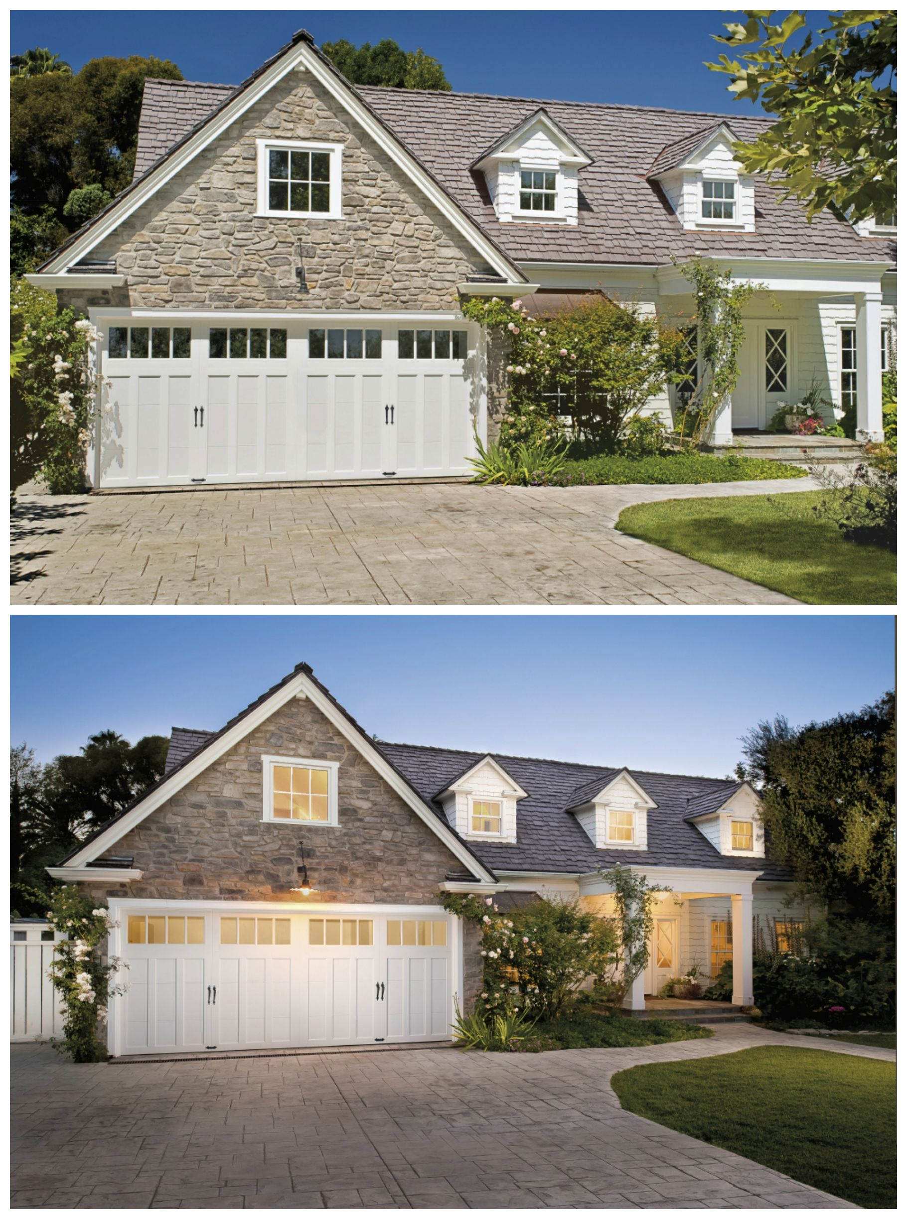 Garage door repairs by s amp t garage doors of northern virginia - Do The Architectural Elements Of Your Home Enhance Its Appearance Like These Garage Doors Do Clopay Coachman Collection Design Rec 14 Windows