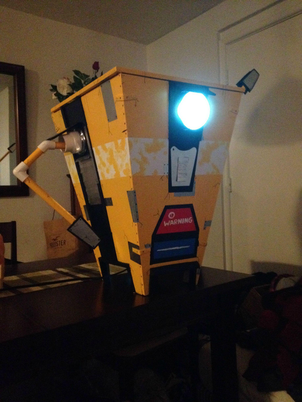 Built my friend a Claptrap! (Borderlands) Video Game Art