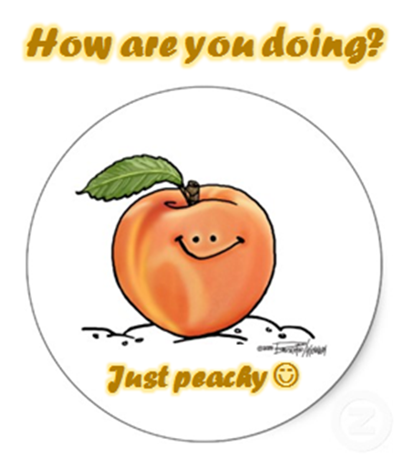 Funny Peach Just peachy :) ...