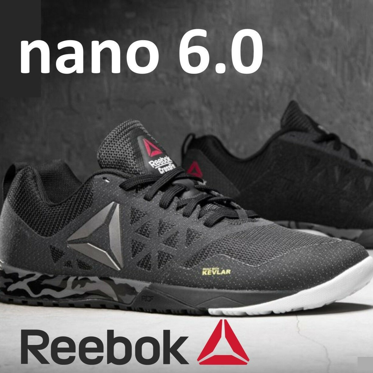 REEBOK CROSSFIT NANO | Black athletic