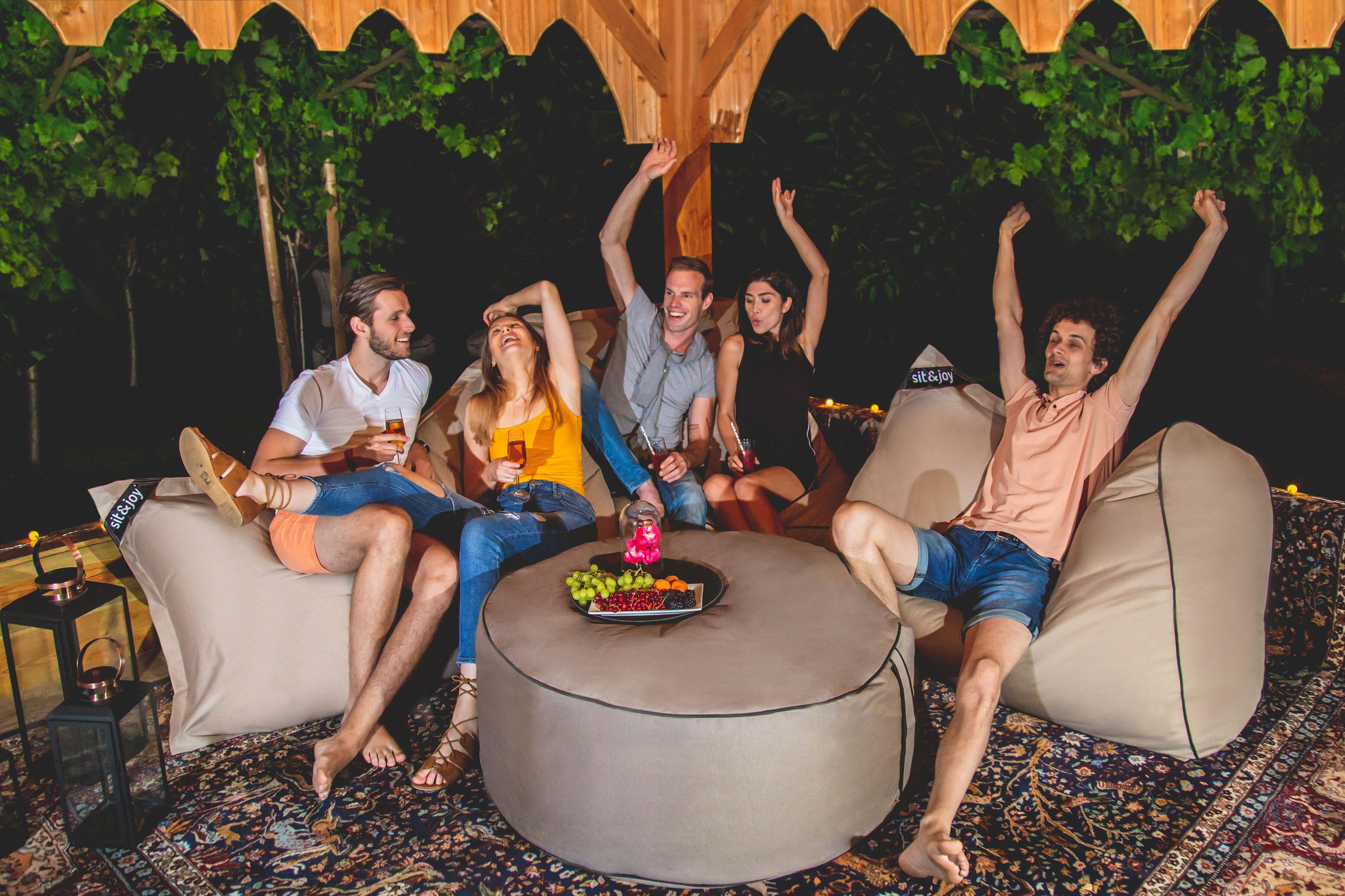 Grote Zitzak Buiten.Sit Joy Zitzak Bali Chocolade Tuin Inspiratie In 2019 Tuin