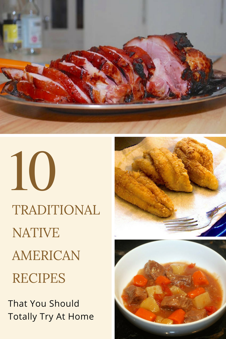 typical foods of native american diet