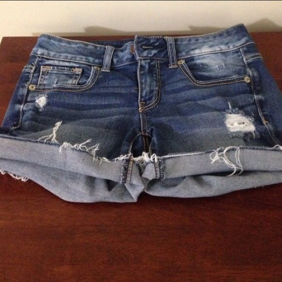 NEW AE jean shorts Perfect condition. Super soft and stretchy. Fast shipping. Bundle to save American Eagle Outfitters Shorts Jean Shorts