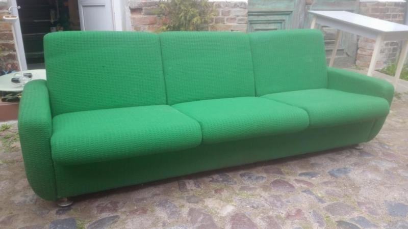 Originale Vintage Klappcouch Mit Schlaffunktion 0 90 M Liegebreite Aus Den 70er 80ern Mit Aufliege Couch Mit Schlaffunktion Sofa Mit Schlaffunktion Couch