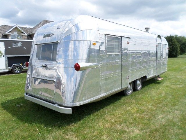 Used Camper Trailers For Sale >> 1959 Streamline Travel Trailer 26 Feet Campers And Rvs