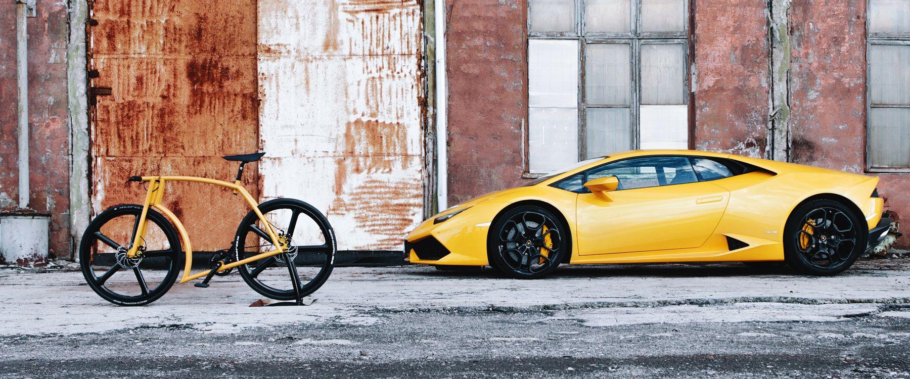 Viks Gt Lamborghini Bike Bicycle Italian Supercar Mashup Bmx Bikes Gt Bikes Lamborghini