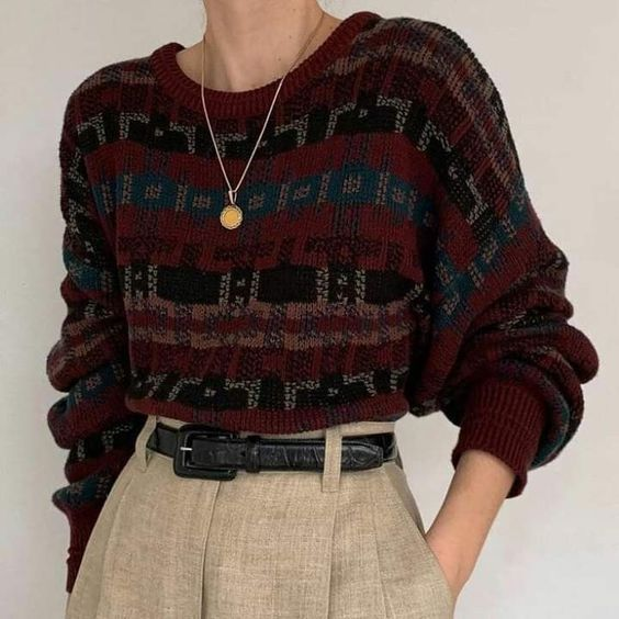 Photo of vintage aesthetic outfits