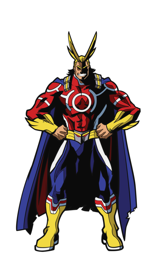 Figpin Xl My Hero Academia All Might Silver Age X4 My Hero My Hero Academia Hero