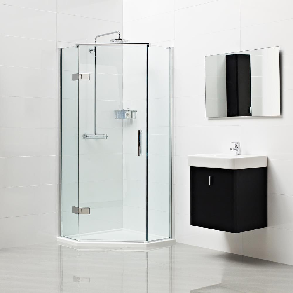 Decem Neo Angle Shower Enclosure --- The ingenious angled design of the Neo  Angle