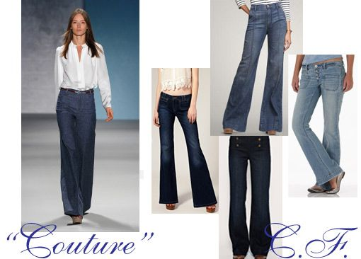 Coveted Couture: Derek Lam Denim Trouser