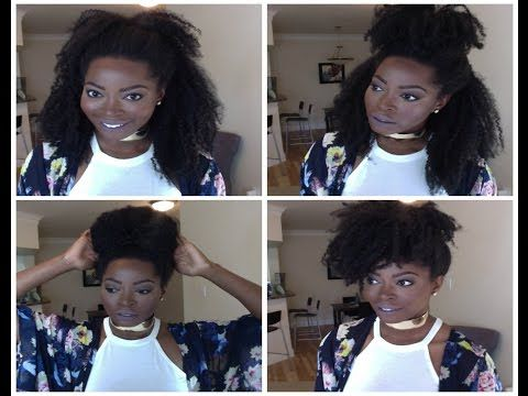 Summer Hairstyles For Short Or Long 4b 4c Natural Hair Natural Hair Styles Curly Clip Ins Dry Long Hair
