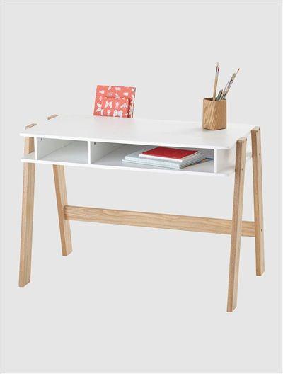 happy price schreibtisch 39 basicburo 39 blau violett wei wei natur kinderzimmer in 2018. Black Bedroom Furniture Sets. Home Design Ideas