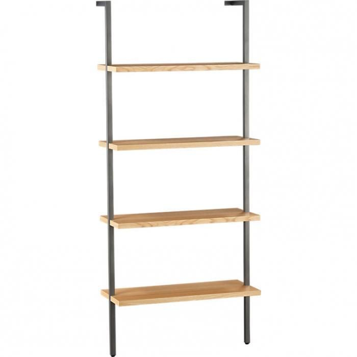 10 Easy Pieces Wall Mounted Shelving Systems Wall Mounted Shelves Wall Mounted Bookshelves Oak Bookcase
