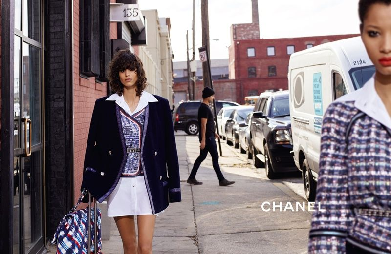 Chanel photographed its spring 2016 campaign in Brooklyn, New York