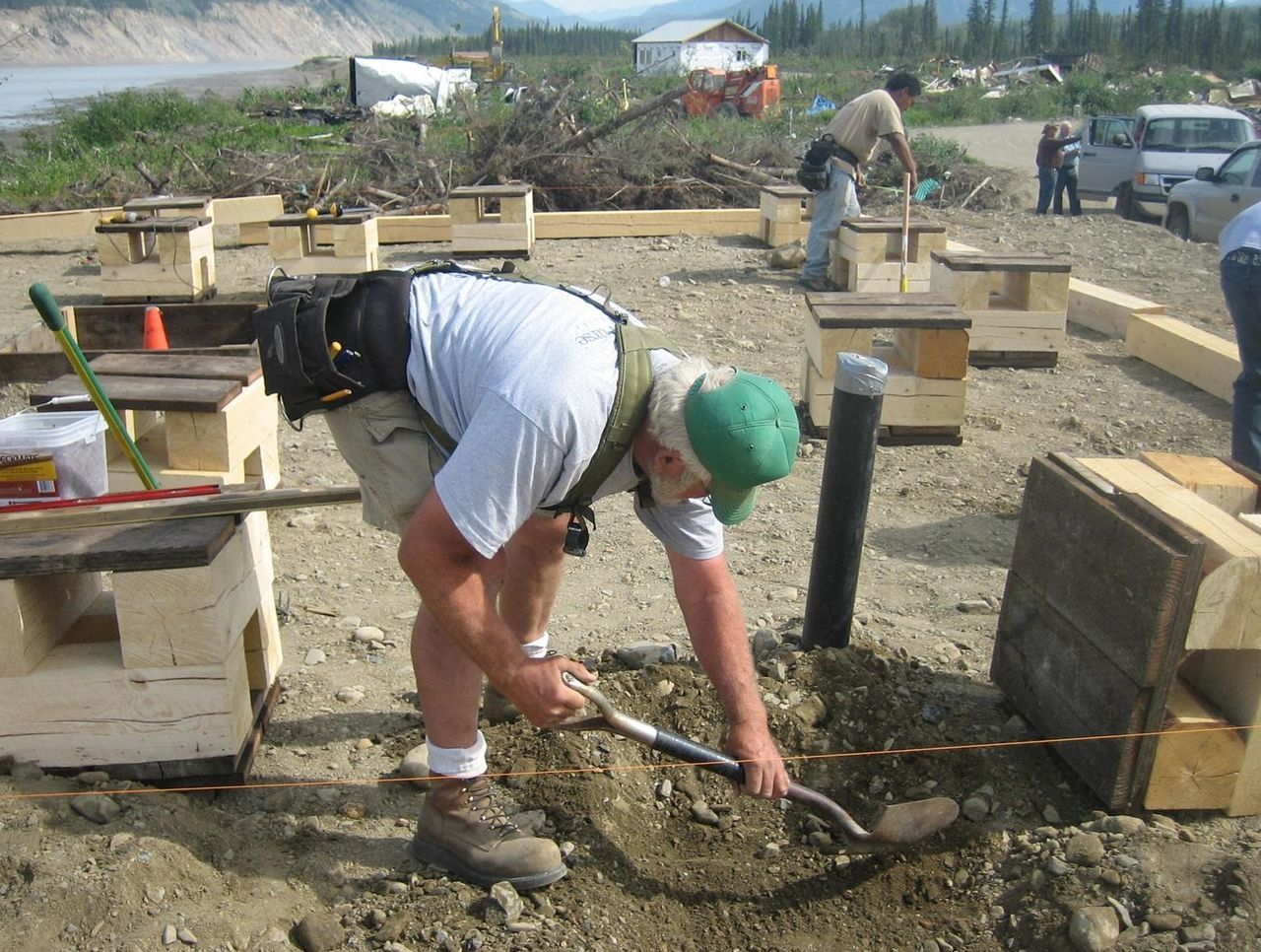 Green building foundation healthy home foundation types for Home foundation types