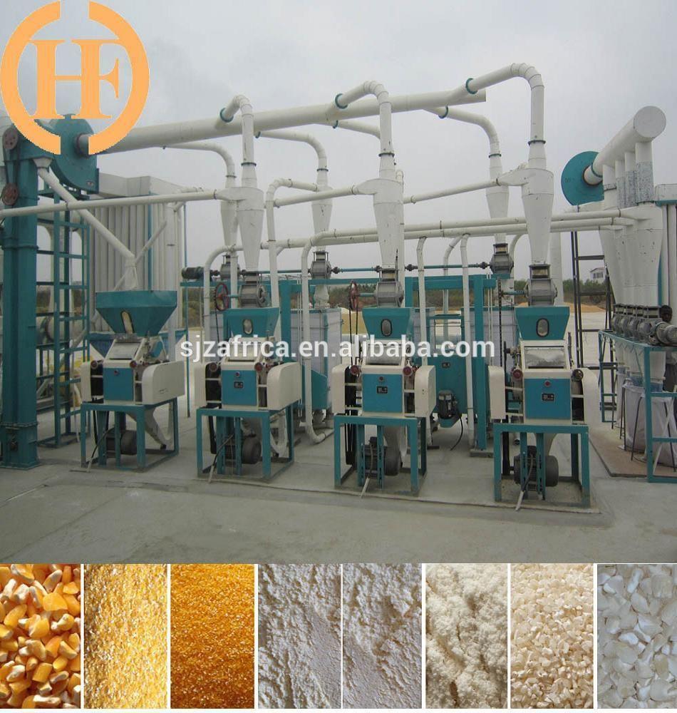 30 Ton Per Day Maize Milling Machine Maizemill Maizemillmachine Maizemillmachinery Maizemillline Maizemillpl Corn Maize Flour Mill Machine Milling Machine