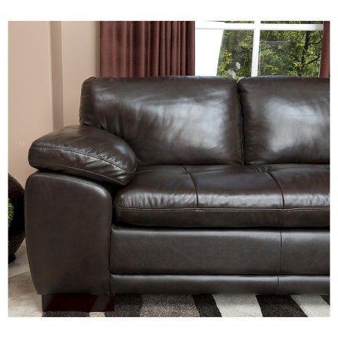 Miraculous Abbyson Living Prescott Sectional Sofa Leather Sectional Evergreenethics Interior Chair Design Evergreenethicsorg