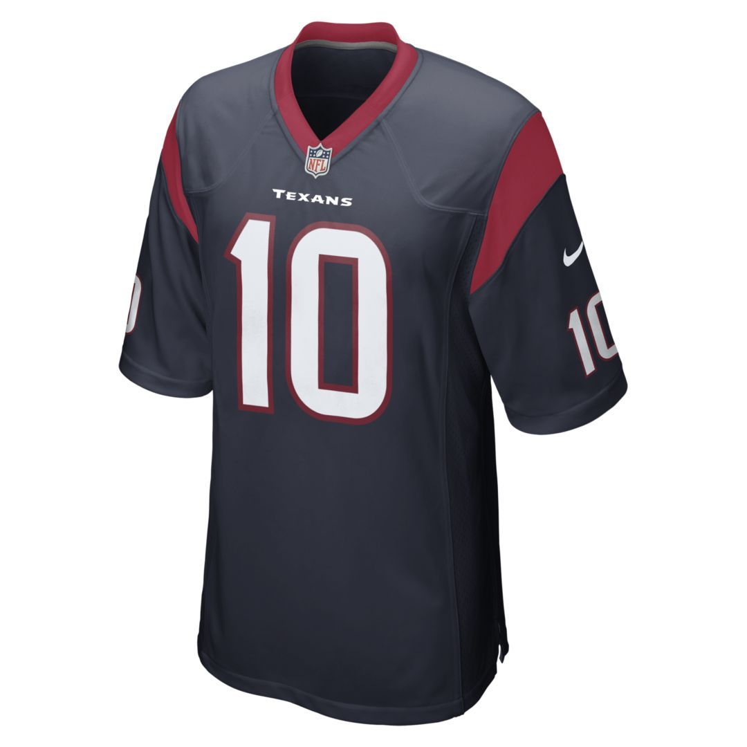 NFL Houston Texans (DeAndre Hopkins) Men s Football Home Game Jersey Size  3XL (Marine) a4dc321cc