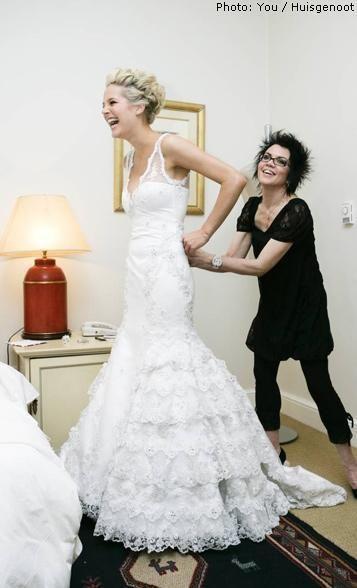 Minki van der westhuizen wedding dress 2018 movies