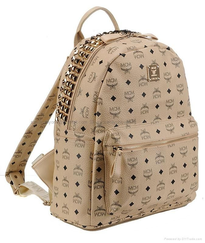 fec5fb20f Cheap Replica MCM Knapsack MCM New Heritage Drawstring Bucket Bags. Find  this Pin and ...