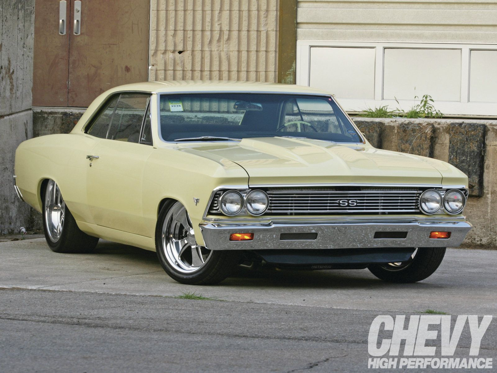 1966 Chevrolet Chevelle My 66 Convertible Was Butternut Yellow Camaro Ss With Black Top