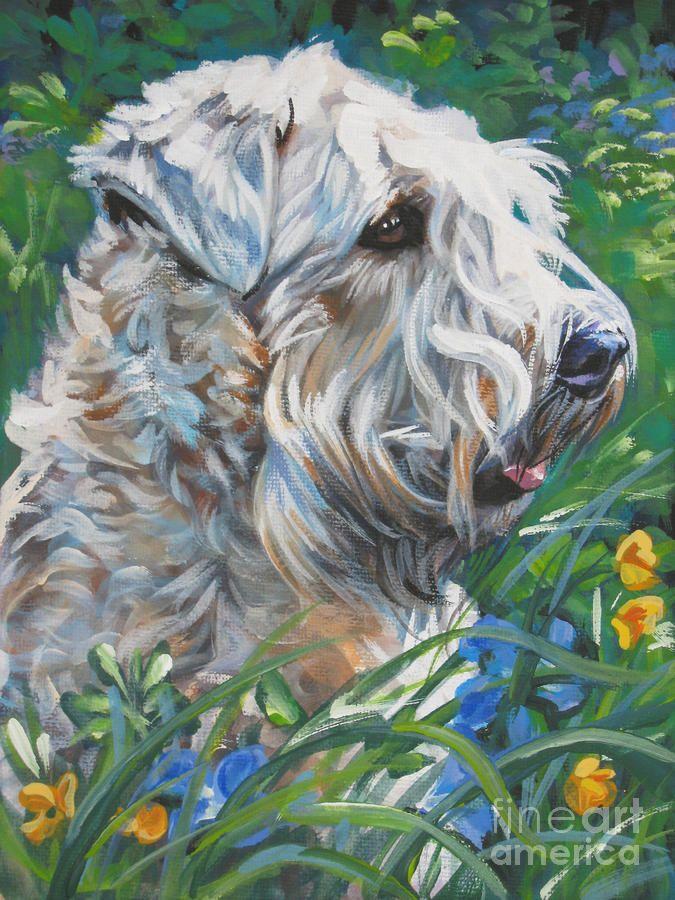 Wheaten Terrier by Lee Ann Shepard