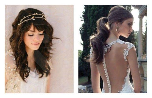 Peinados de novia modernos buscar con google casorio - Peinados de novia modernos ...