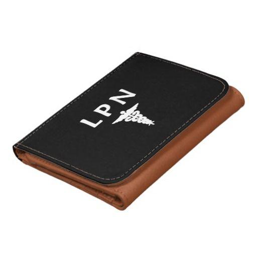 Nurses LPN Caduceus Tri-fold Wallet