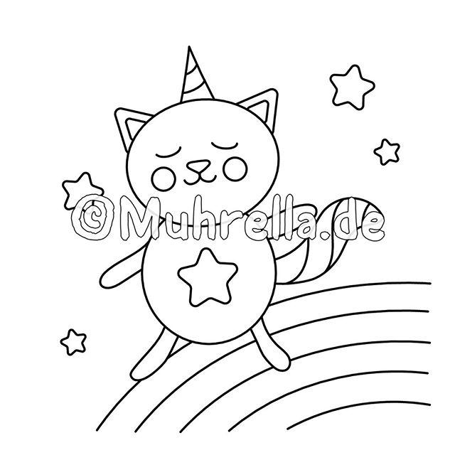 Muhrella Coloring Books Auf Instagram Aww The Second Unicorn Animal Mix Our Llamas Came Up With Is A Cat Pokemon Ausmalbilder Wenn Du Mal Buch Ausmalbilder