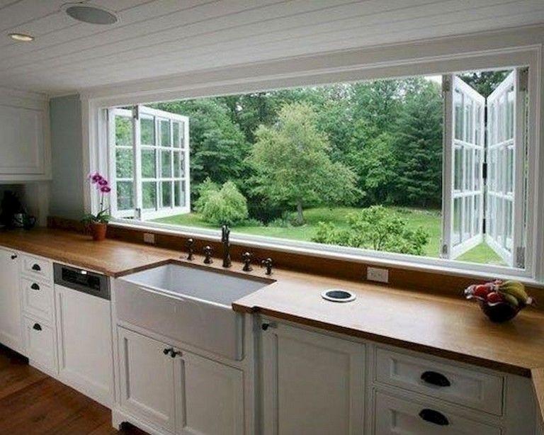 94 Lovely Kitchen Window Design Ideas Kitchen Window Design Modern Kitchen Interiors Kitchen Interior Design Modern