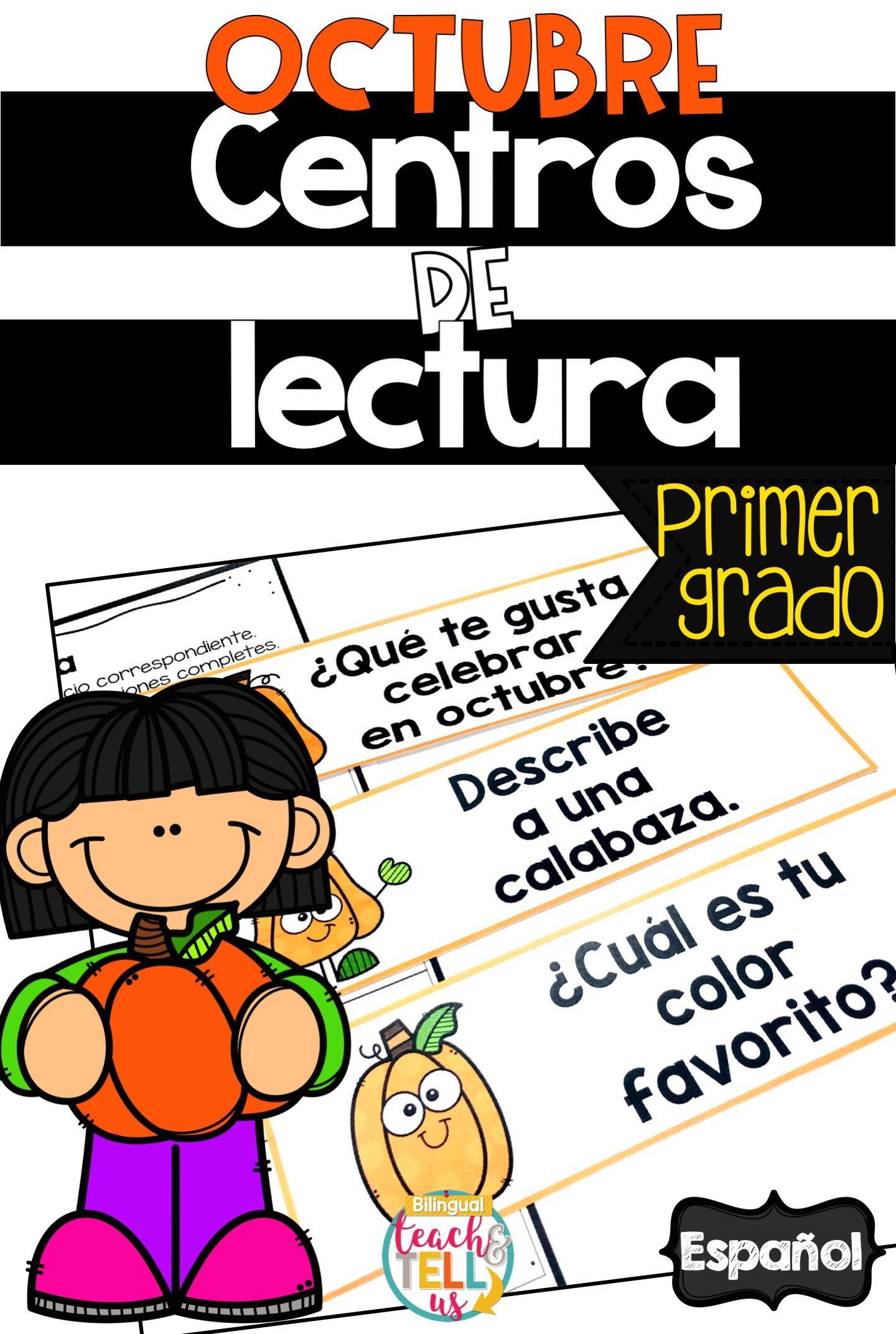 Literacy Centers In Spanish First Grade Centros De Lectura Primer Grado Dual Language Classroom Spanish Writing Literacy Centers [ 2144 x 1440 Pixel ]