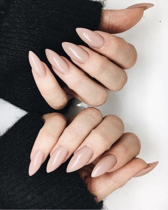 62 Fresh Design Ideas For Almond Shaped Nails In 2019 Mauve Nails Classy Nails Pink Nails