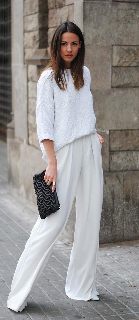 b0a7128e9f033 Carte Blanche, Pantalons Palazzo, Nachhaltige Mode, Mode Minimaliste, Looks  Mode, Mode