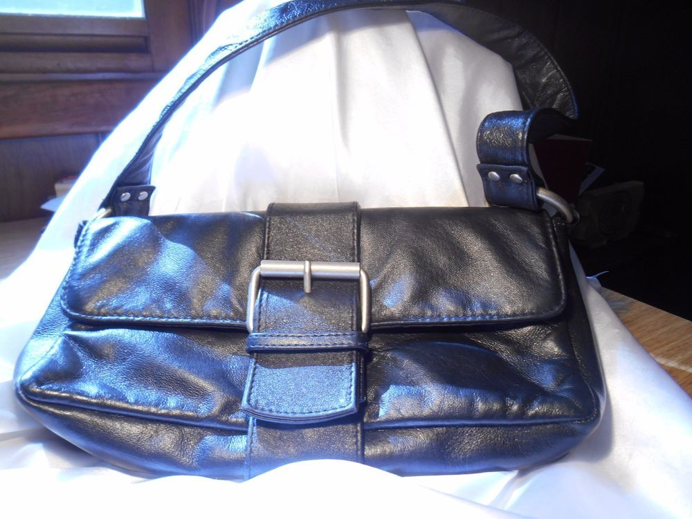 High Quality Soft Black Wilsons Leather Maxima Small Purse