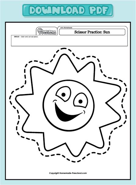 Fun and Interactive Preschool Worksheets | Scissor ...