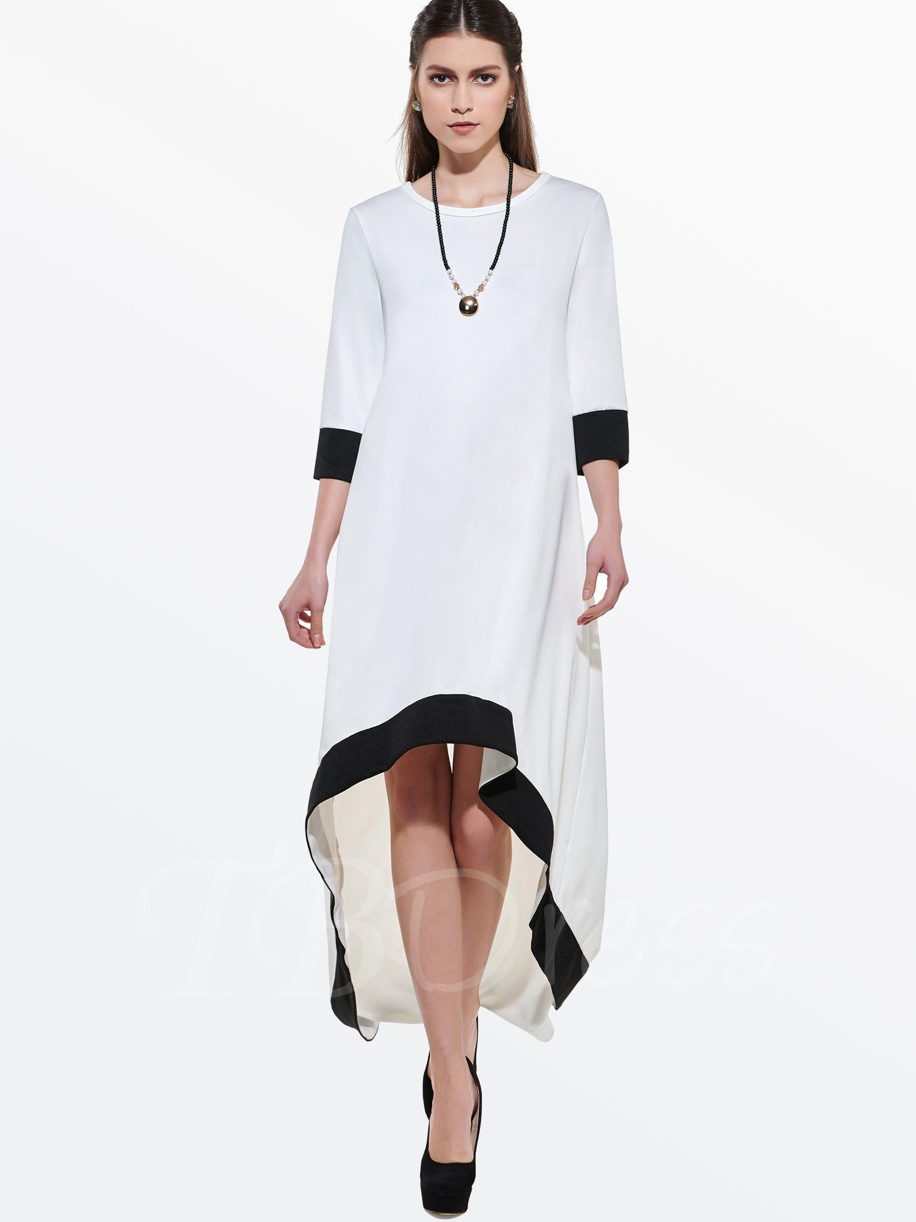Asymmetrical long sleeve womens maxi dress و pinterest maxi