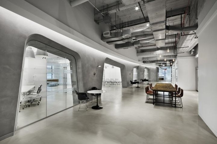 lf usa offices by spacesmith new york city retail design blog